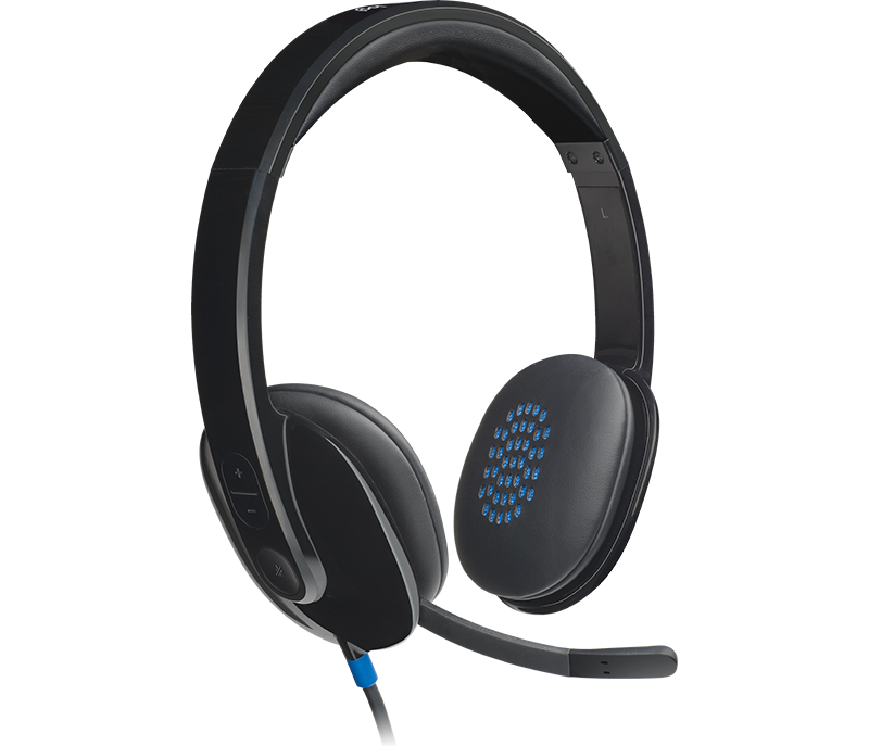 Logitech H540 USB Headset with Noise-Cancelling Mic