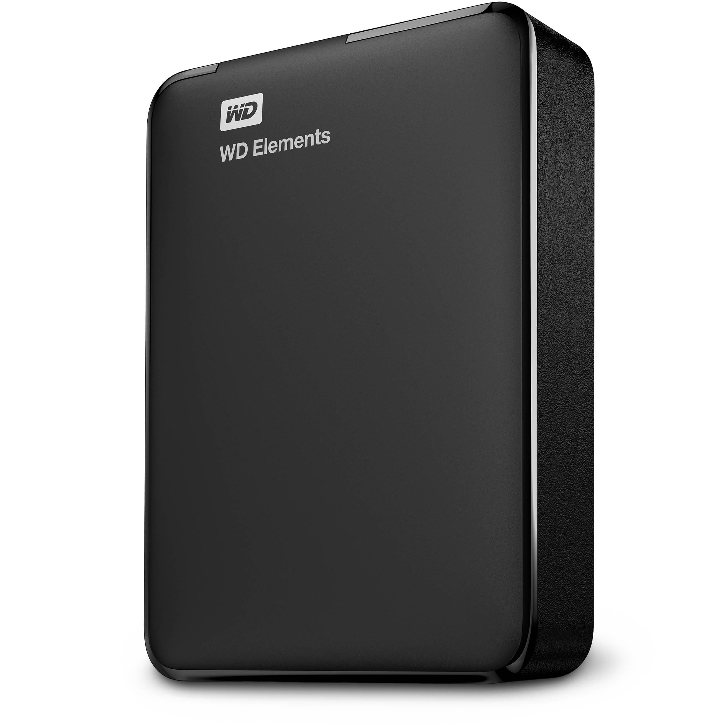 Western Digital 1TB Elements Portable External Hard Drive