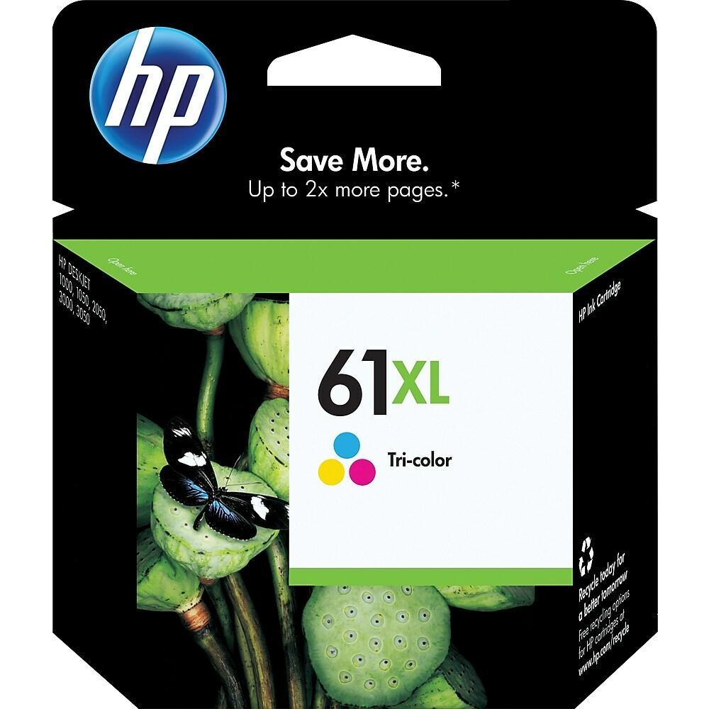 HP 61XL Tri-Colour High Yield Original Ink Cartridge