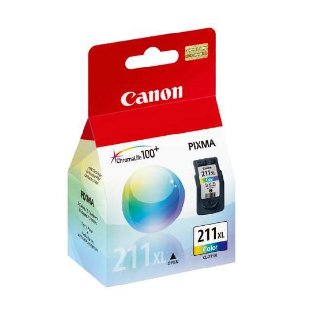 Canon CL-211XL Colour Ink Cartridge, High Yield