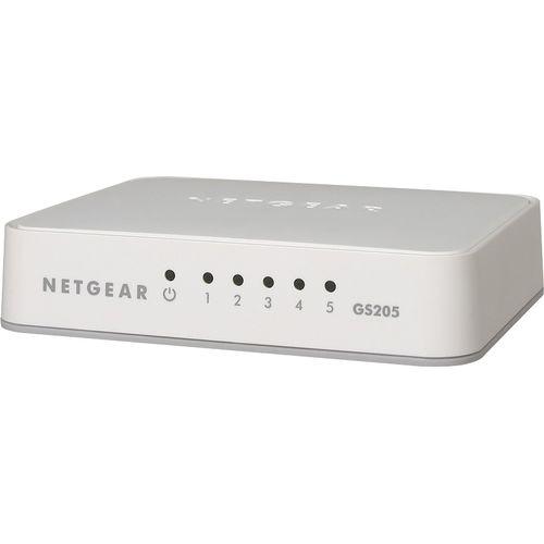 Netgear 5-Port Gigabit Unmanaged Switch, GS205