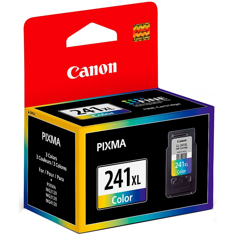 Canon CL-241XL Colour Ink Cartridge, High-Yield