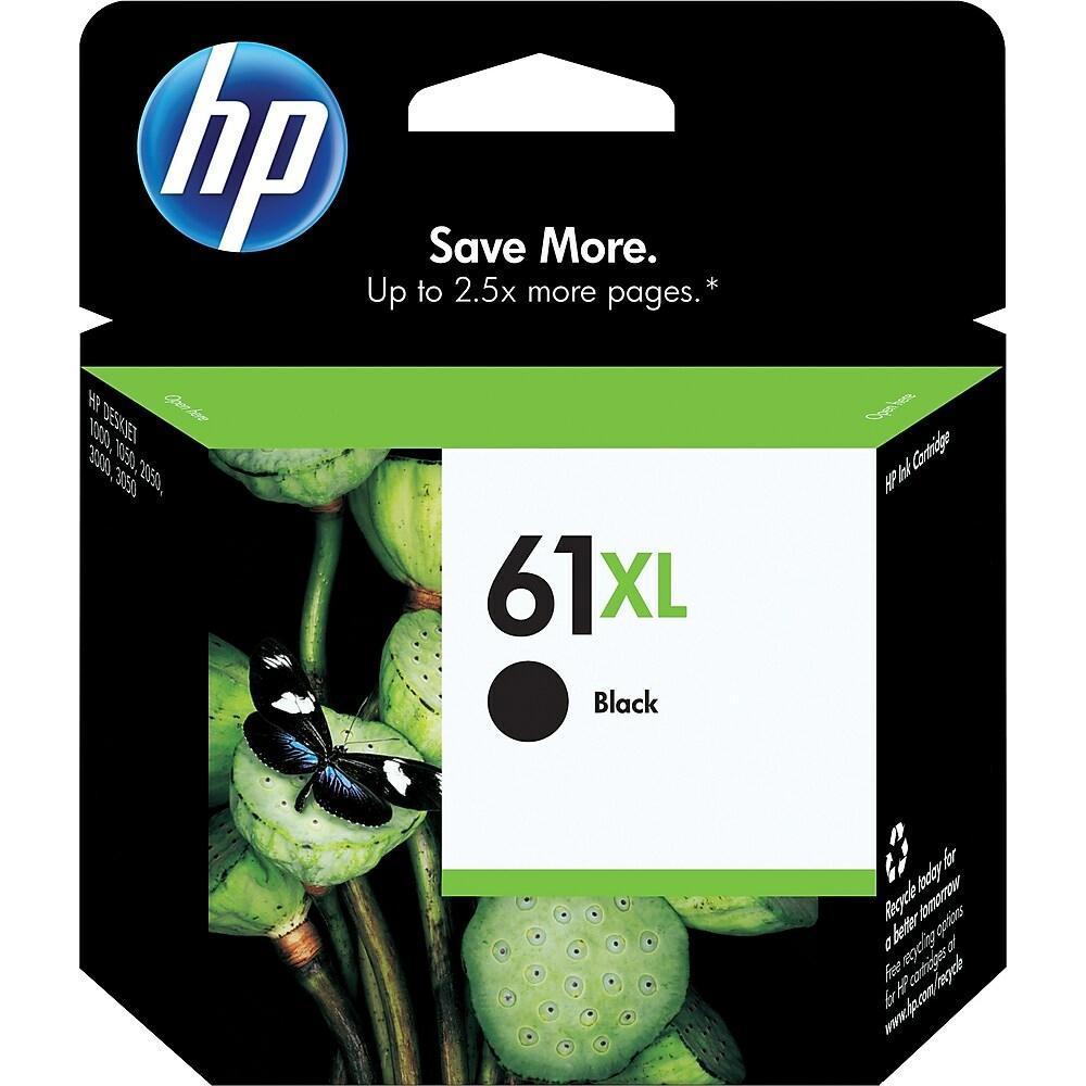 HP 61XL Black High Yield Original Ink Cartridge