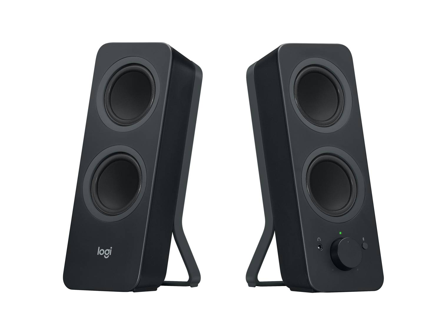Logitech Z207 2.0 Stereo Computer Speakers with Bluetooth