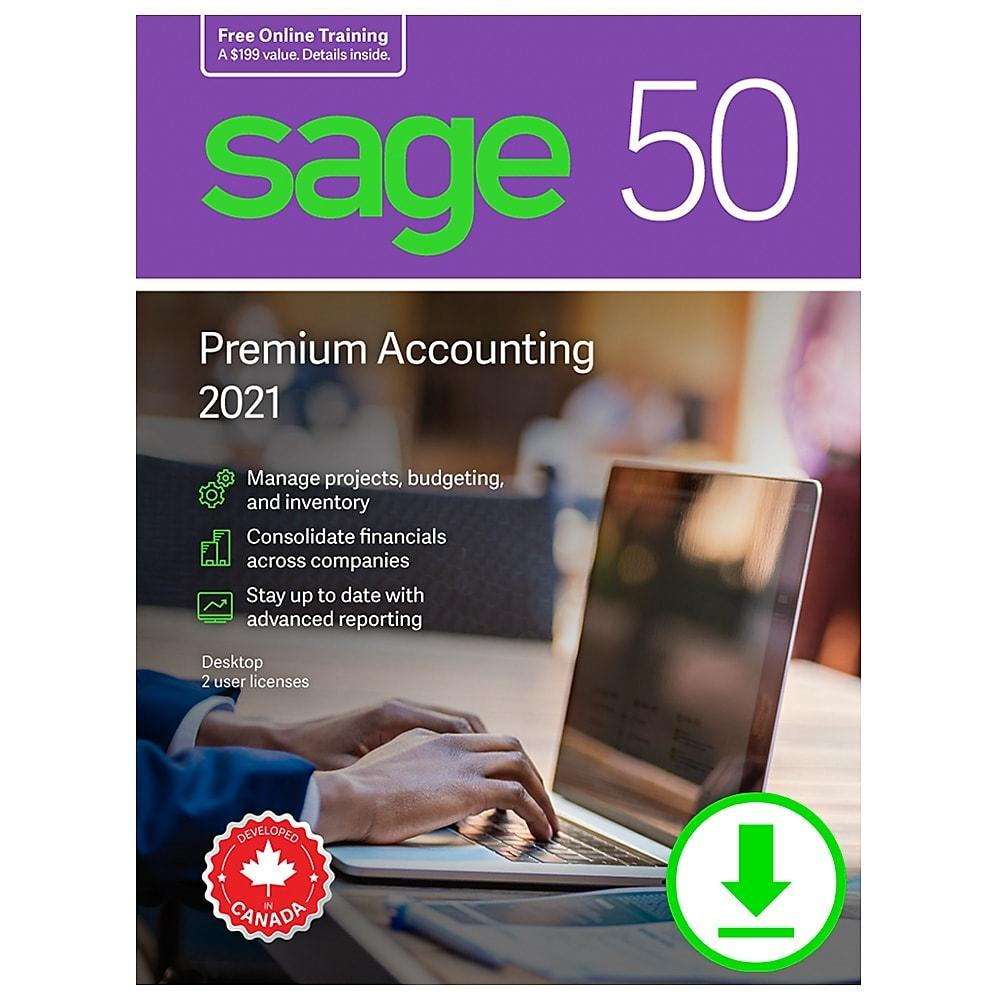 Sage 50 Premium Accounting 2021 CDN