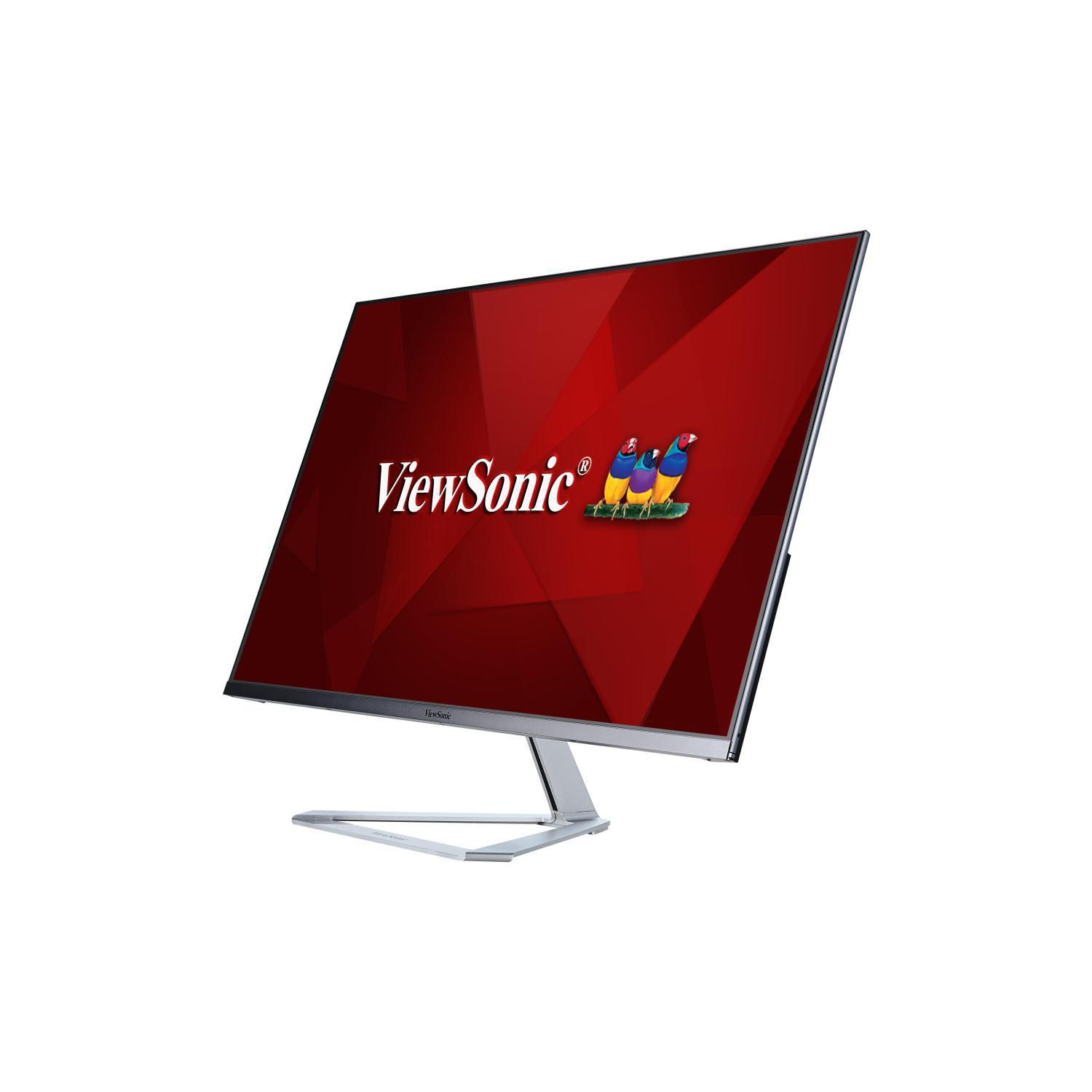 ViewSonic VX3276-MHD 32-inch 1080p Frameless Widescreen IPS Monitor with Screen Split Capability HDMI and DisplayPort